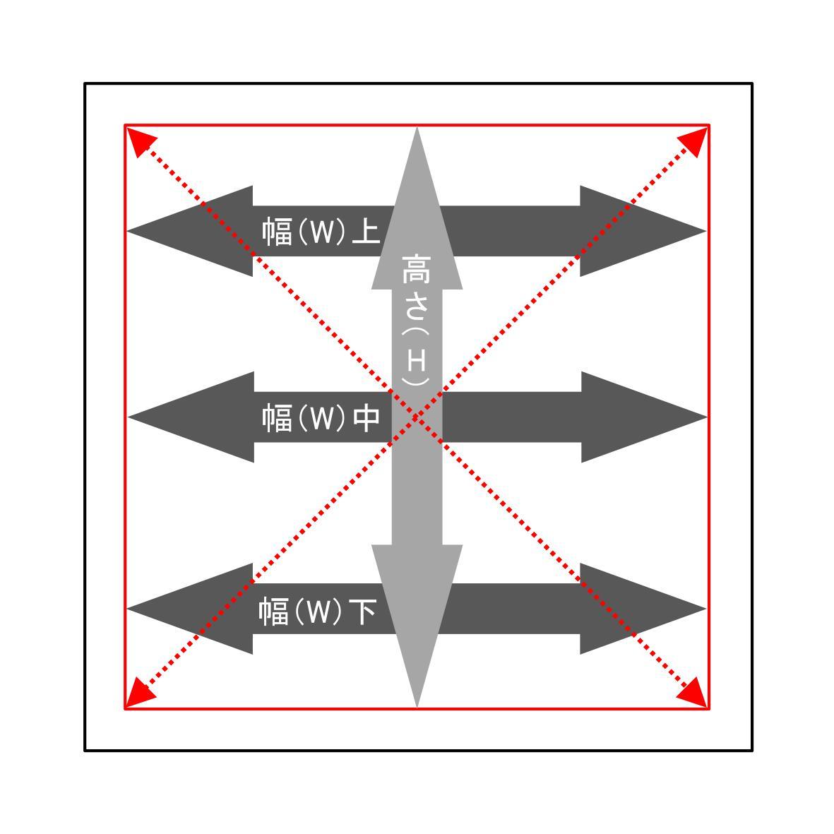 採寸方法 - 【内付】6