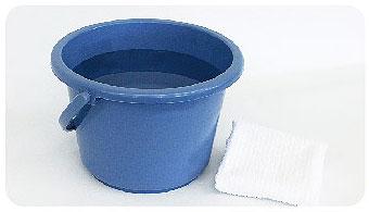 ハニカム構造・断熱ブラインドのお手入れ方法(中性洗剤使用の場合)